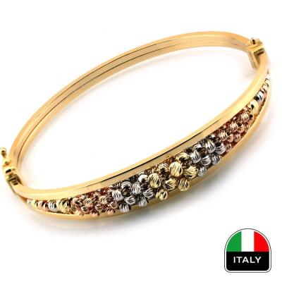 kuyumcunuznet - Altın İtalyan Zarif Kelepçe Bilezik (14 Ayar)