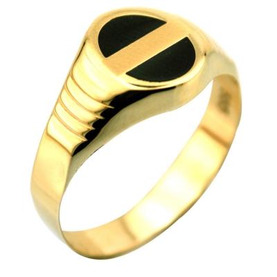 kuyumcunuznet - Altın Şovalye Erkek Yüzüğü (14 Ayar)