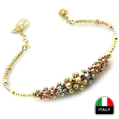 - Altın Tasarım İtalyan Kelepçe Bilezik (14 Ayar) 2017