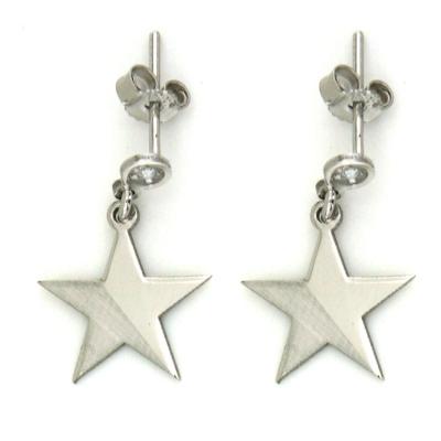 kuyumcunuznet - Altın Yıldız Küpe (14 Ayar)