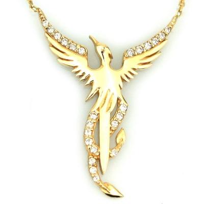 - Anka Kuşu Altın Kolye (14 Ayar)