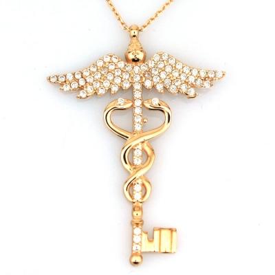 - Doktor Hekim Altın Kolye (14 Ayar)