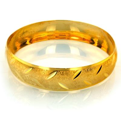 kuyumcunuznet - Gösterişli Hediyelik Takılık Altın Bilezik (8 Ayar)