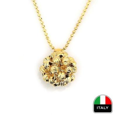 - İtalyan Altın Tasarım Kolye (14 Ayar)