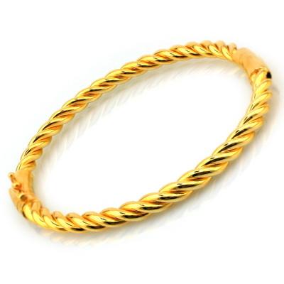 kuyumcunuznet - Kilitli Altın Burma Bilezik (22 Ayar)
