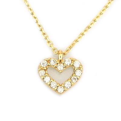 kuyumcunuznet - Küçük Altın Kalp Sevgili Kolyesi (14 Ayar)