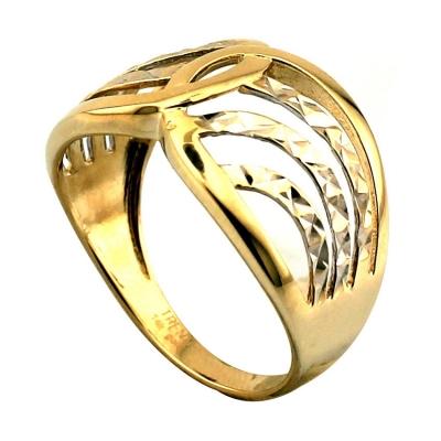 - Lazerli Taşsız Altın Yüzük (14 Ayar)
