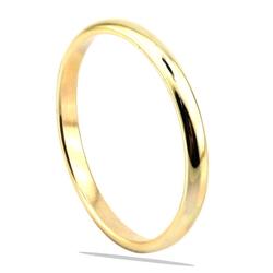 2mm Düz Altın Alyans (14 Ayar) - Thumbnail