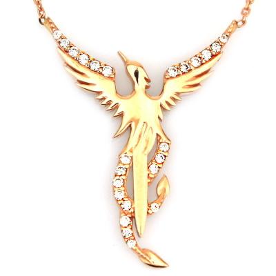 kuyumcunuznet - Altın Anka Kuşu Kolye (14 Ayar)