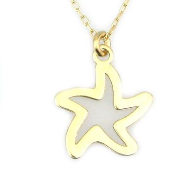 Altın Deniz Yıldızı Kolye (8 Ayar)