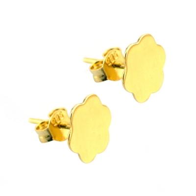 kuyumcunuznet - Altın Figürlü Küpe (14 Ayar)