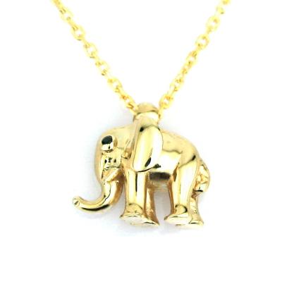 Altın Fil Kolye (14 Ayar)
