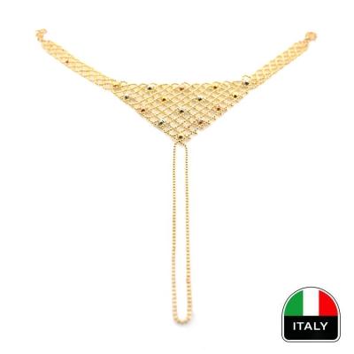 kuyumcunuznet - Altın İtalyan Şahmeran Bileklik Künye (14 Ayar)