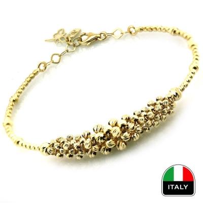 kuyumcunuznet - Altın İtalyan Tasarım Kelepçe Bilezik (14 Ayar) 2020