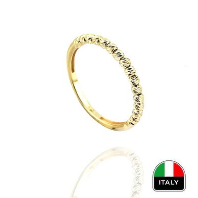 kuyumcunuznet - Altın İtalyan Taşsız Yüzük (14 Ayar)