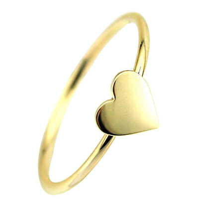 Altın Kalp Yüzük (14 Ayar)