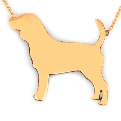 kuyumcunuznet - Altın Köpek Kolye (14 Ayar)
