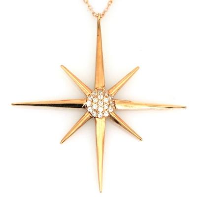 kuyumcunuznet - Altın Noaydan Kutup Yıldızı (14 Ayar)