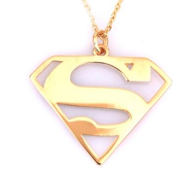 Altın Supermen Kolye (14 Ayar)