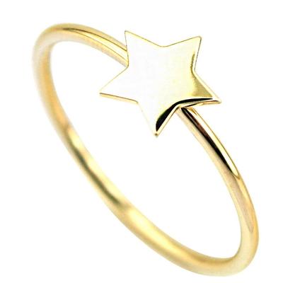 Altın Yıldız Yüzük (14 Ayar)