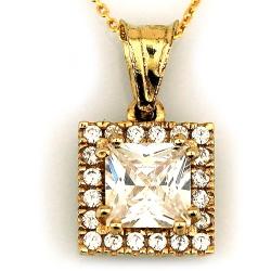 Baget Taşlı Hafif Altın Takı Seti (14 Ayar) - Thumbnail
