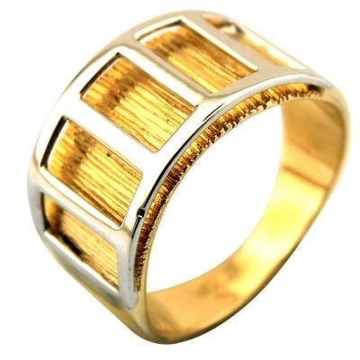 kuyumcunuznet - Erkek Serçe Parmak Altın Yüzüğü (14 Ayar)