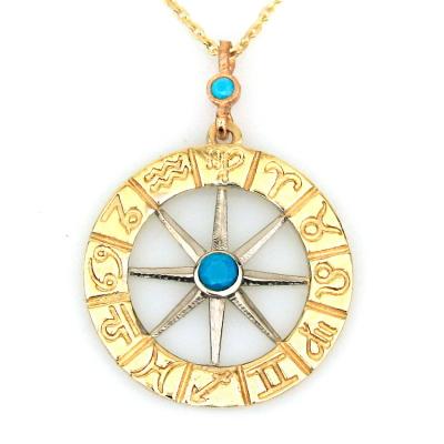 Horoskop Burç Altın Kolye