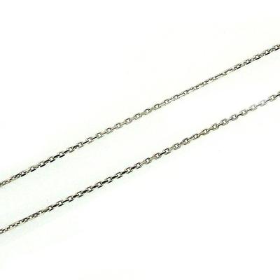 kuyumcunuznet - İnce Beyaz Altın Zincir (14 Ayar)