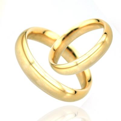kuyumcunuznet - İnce Düz Tek Altın Alyans (14 Ayar)