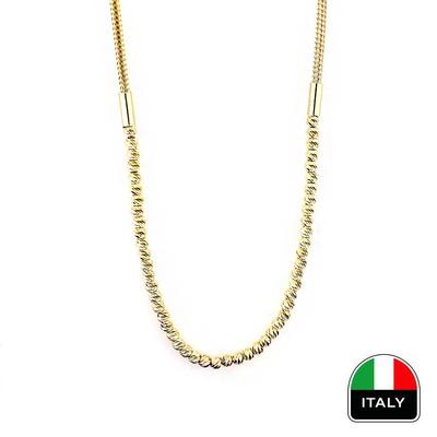 kuyumcunuznet - İtalyan Altın Gerdanlık Kolye (14 Ayar)