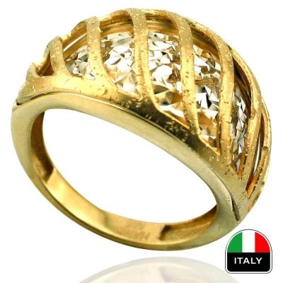 kuyumcunuznet - İtalyan Tasarım Altın Yüzük (14 Ayar)