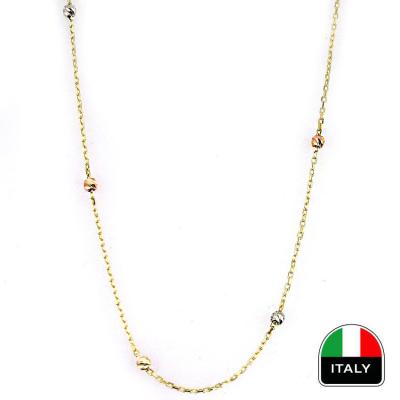 kuyumcunuznet - İtalyan Toplu Altın İnce Zincir (14 Ayar)