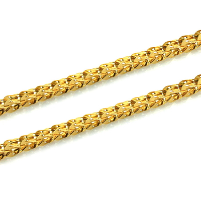 kuyumcunuznet - Kalın Altın Zincir (14 Ayar)