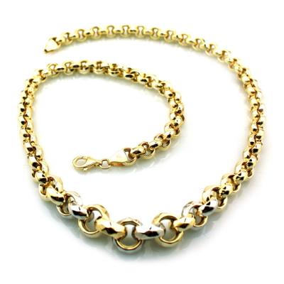 kuyumcunuznet - Kalın Gösterişli Altın Zincir (14 Ayar)