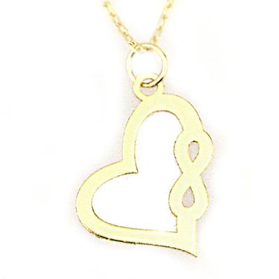 Kalp Altın Kolye (8 Ayar)