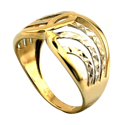 kuyumcunuznet - Lazerli Taşsız Altın Yüzük (14 Ayar)