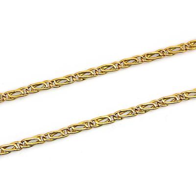kuyumcunuznet - Özel Döküm Altın Erkek Zinciri Kolyesi (14 Ayar)