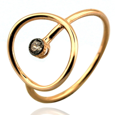 kuyumcunuznet - Özel Tasarım Altın Yüzük (14 Ayar)