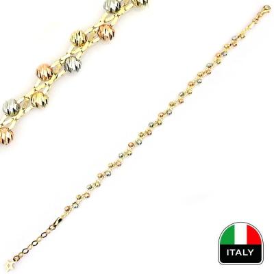 kuyumcunuznet - Özel Tasarım İtalyan Bileklik (14 Ayar)