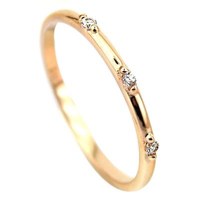 kuyumcunuznet - Rose Altın Eklem Yüzüğü (14 Ayar)