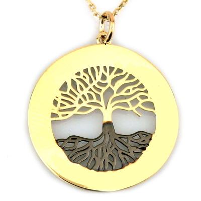 kuyumcunuznet - Taşlı Hayat Ağacı (8 Ayar)
